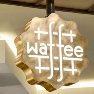 Waffee Sign LED Sillicone Neon